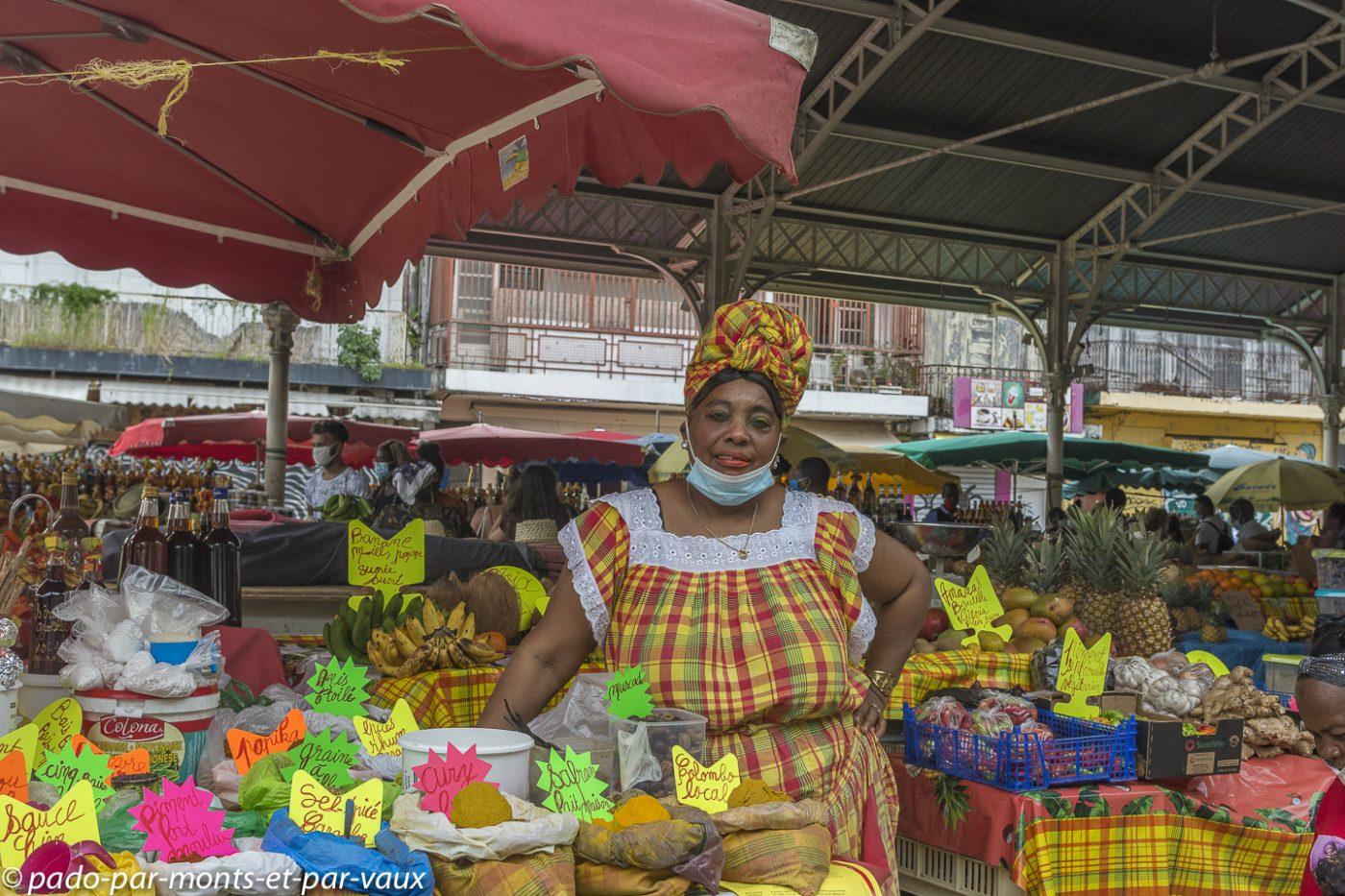 2021-Guadeloupe- Pointe à Pitre- Marché Saint Antoine