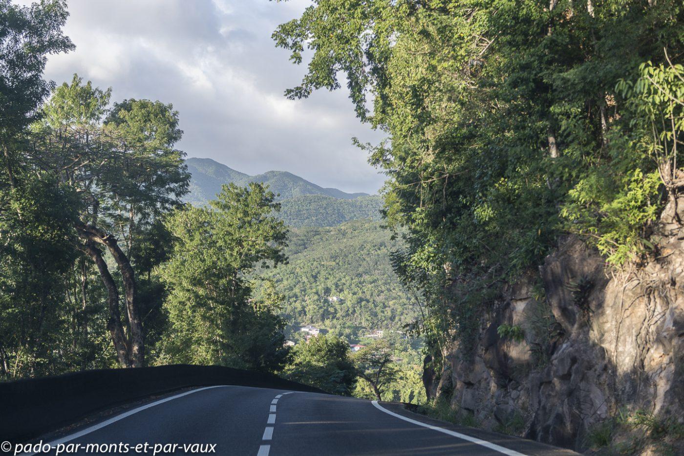 2021- Basse-Terre - route vers Pointe Noire