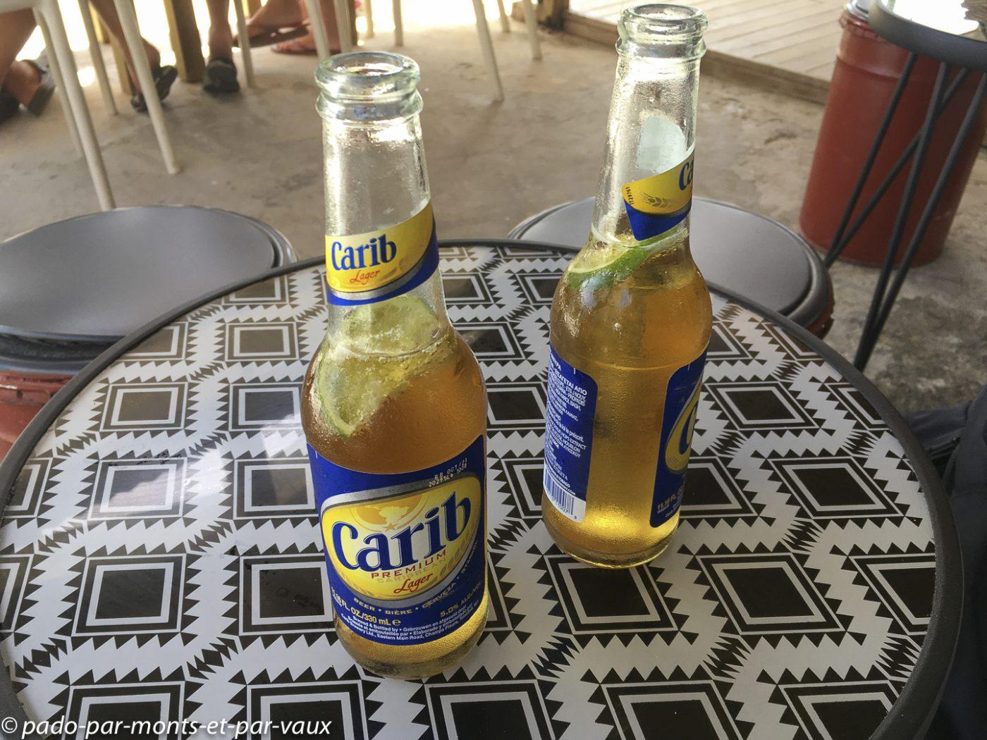 Bière Carib