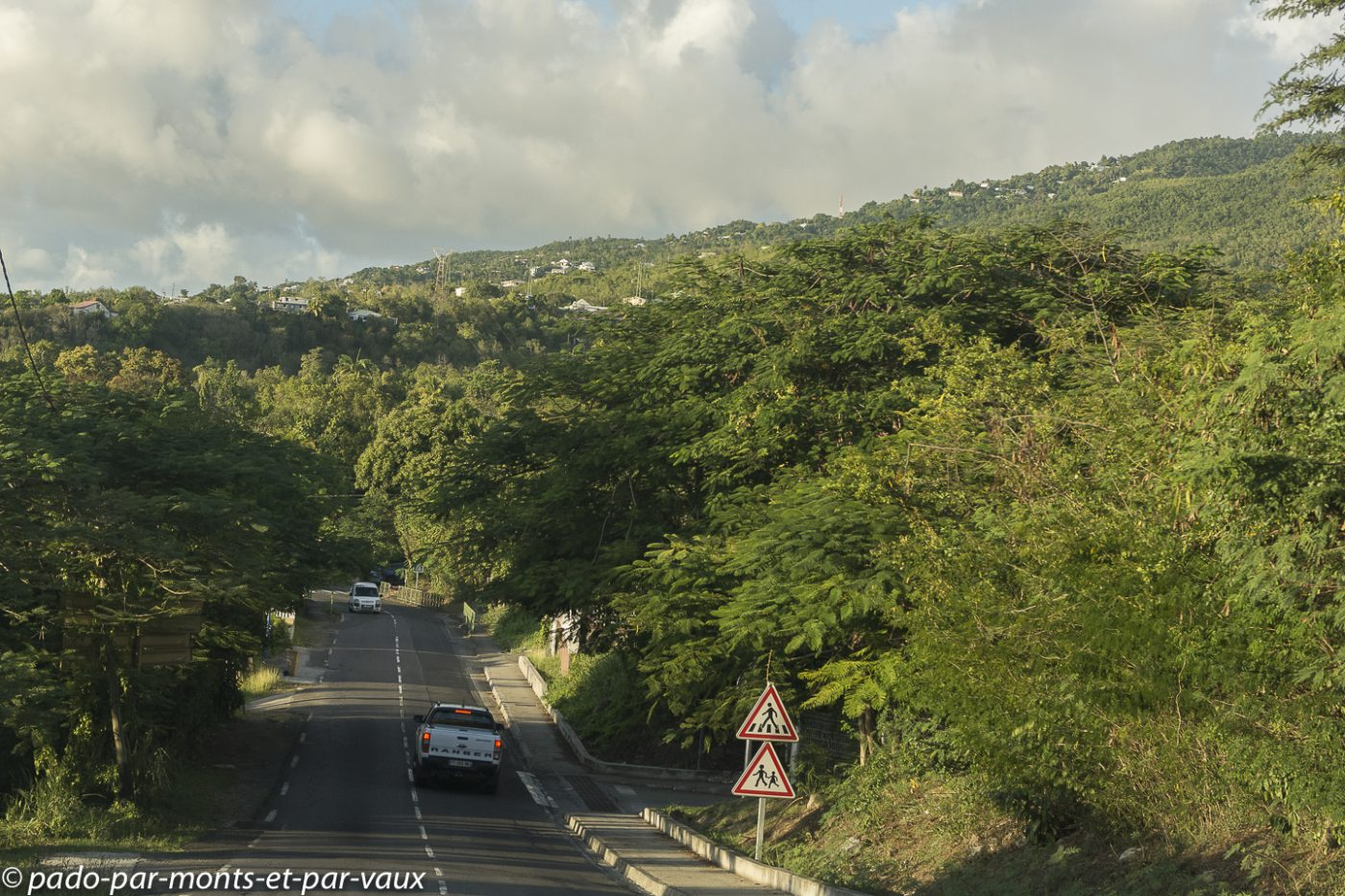 2021- Basse Terre-route de retour vers Bouillante