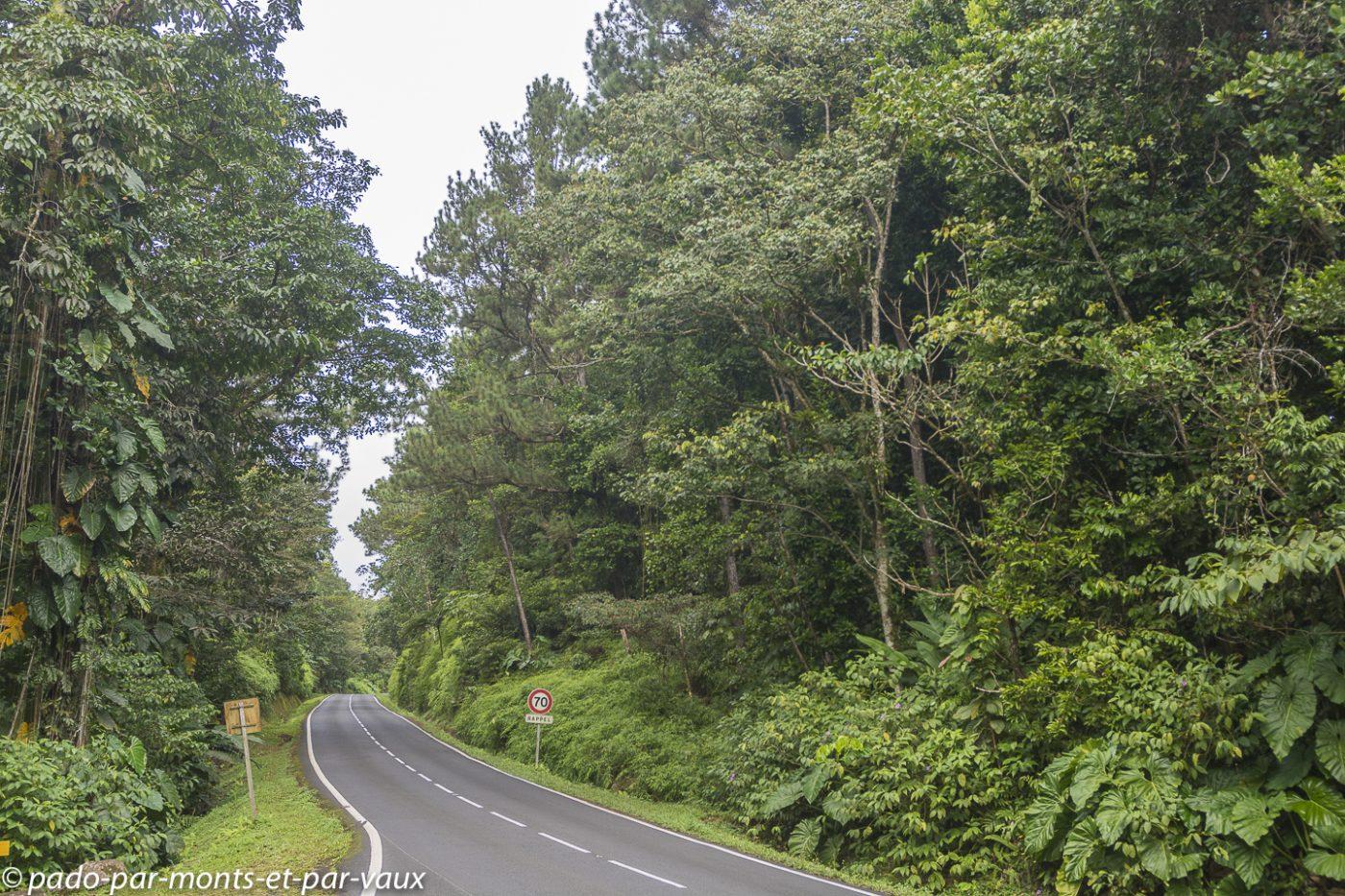 2021- Basse-Terre-Route de la Traversee